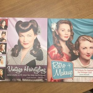 Vintage Hairstyling & Retro Makeup Books